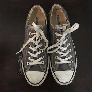 Converse- Classic Gray Sneakers Size 7 M/ 9 WM
